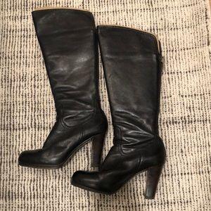 Frye Miranda Back Zip Platform Boot